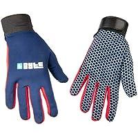 Byte SKINFIT - Guantes de Hockey, Color Azul Marino y Rojo, Color Azul Marino Rojo, tamaño Small