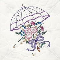 """Fairway, 18 x 18 cm, motivo """"ombrello"""" Stamped Quilt Blocks, confezione da 6"""