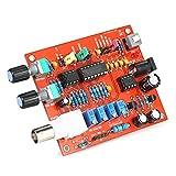 KKmoon Alta Precisione FG8038 (ICL8038) Funzione Generatore di Segnali DIY Kit Quadrato / Triangolo / Sinusoidale Uscita 3Hz-300kHz Ampiezza di Frequenza Regolabile