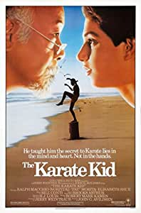 THE KARATE KID MOVIE POSTER PRINT APPROX SIZE 12X8 INCHES
