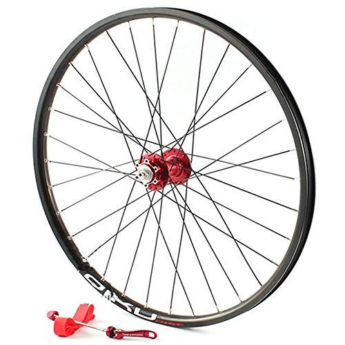 "YHSFC 26\""Mountain Wheel Bearing Aluminium Alloy Zwei Perlin Card Type Scheibenbremse Single Vorderräder,D,1029g"