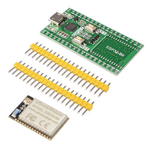 CP2102 Chip Development Board + ESP32-Bit WiFi ESP3212 Bluetooth Module IoT  + 8GB microSD Card