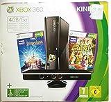 Console Xbox 360 4 Go + capteur Kinect + Disneyland Adventures (jeu Kinect) + Kinect Adventures ! (jeu Kinect)