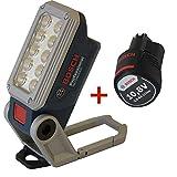 DECI SET Bosch Akku-Lampe GLI DeciLED 10,8V 06014A0000 + Bosch Ersatzakku Akku 10,8V 1,5Ah Li-Ion