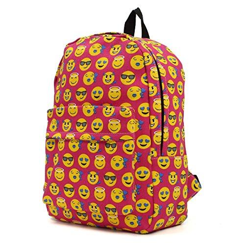 outerdo-funny-smiley-zaino-unisex-zaino-viaggio-borsa-backpack-scuola-zaino-bambini-zaino-school-bag
