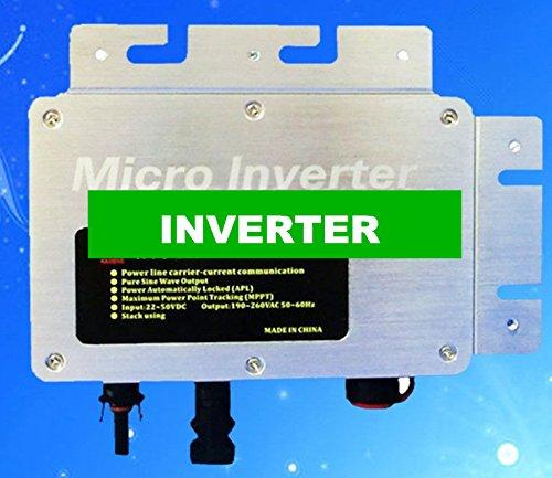 Gowe 260W IP 65Wasserdicht Micro Solar Grid gebunden Wechselrichter Input DC 22Gleichspannungswandler, Ausgang AC 120V, 230V -