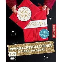 Weihnachtsgeschenke in Liebe verpackt: Mit edlen Geschenkanhängern und Geschenkpapier (Creatissimo)
