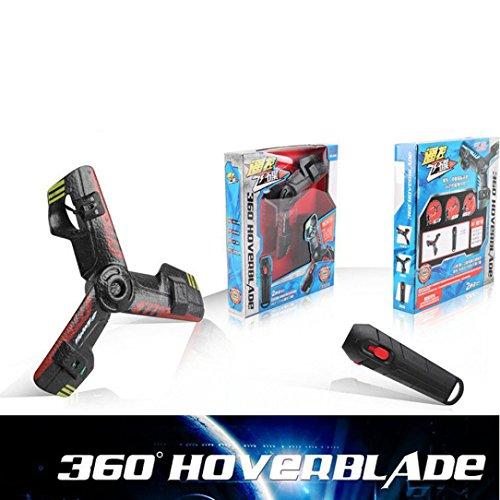 lanspo Drone interactivo Juegos al aire libre, Handheld Flying Spinner giratorio para niños, rojo, 31*26*6mm