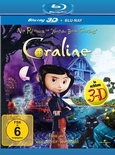 Coraline (+ Blu-ray) [Blu-ray 3D]