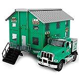 AOTE-D RV Auto Wagon Alloy LKW Modell Doppeldeformation 1:50 Grün LKW Spielzeug Kind Junge Mädchen Geschenk