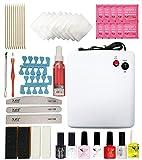 Crisnails Kit de Decoración para Manicura y Pedicura, con Todos los Accesorios y las Herramientas...