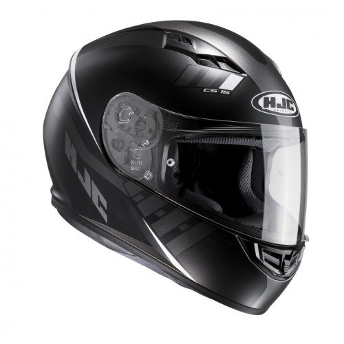 HJC casco Moto CS 15 Space mc5sf, Negro