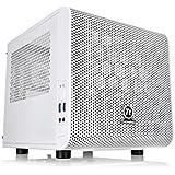 Thermaltake Core V1 Snow Edition Mini ITX Chassis - Caja de ordenador , blanco