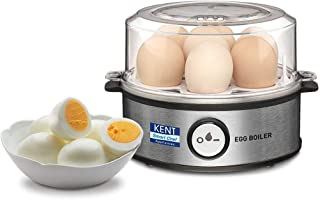 Kent Instant Egg Boiler 360-Watt (Transparent and Silver Grey)