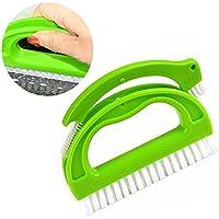 Brosse pour les joints de la salle de bains, cuisine et le ménage - Nettoie efficacement les joints du carrelage en les débarrassant en surface de la moisissure - (nettoyage universel)