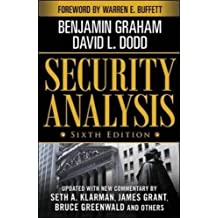 Security Analysis Sixth Edition (Security Analysis Prior Editions)
