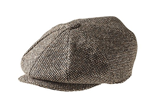 peaky-blinders-herren-schirmmutze-gr-x-large-brown-birds-eye-tweed