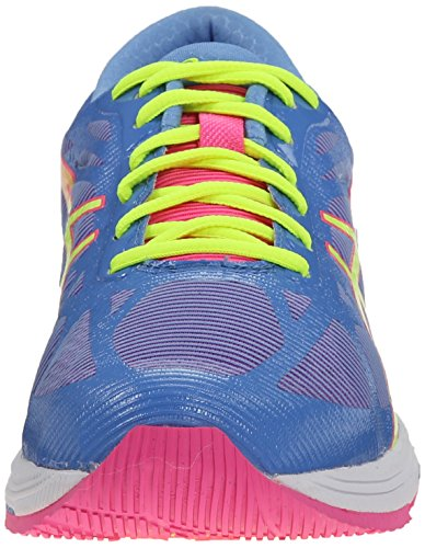 Asics Gel-DS Trainer 20 Synthétique Chaussure de Course Powder Blue/Flash Yellow/Hot Pink
