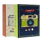LCD Juego de 2 álbumes de Fotos con Fundas para 300 Fotos (10x15cm)