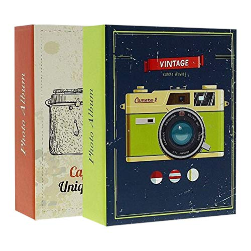 LCD Juego 2 álbumes Fotos Fundas 300 Fotos 10x15cm