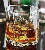 #8: Ocean Pyramid 370 ml Whisky Glass Set of 6, Transparent
