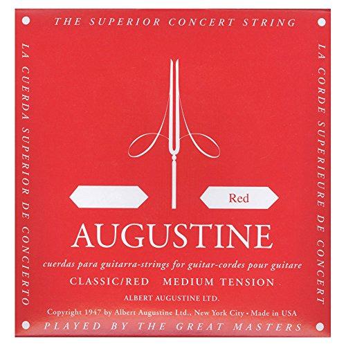 Augustine corde per chitarra classica corde singole mi6 red label