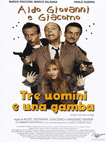Tre uomini e una gamba [IT Import]
