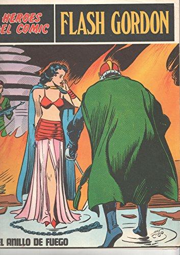 Flash Gordon de Burulan numero 007: El anillo de fuego