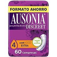 Ausonia Discreet Compresas Extra Para Pérdidas De Orina 60u