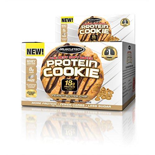 Muscletech Products - Proteina biscotto morbido al forno Chip di burro di arachidi - 6 Biscotti - 51wkGbLsLsL