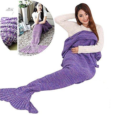 couverture-chaude-et-douce-queue-de-sirene-par-aiqi-crochet-snuggle-cozy-fabrique-en-polaire-canape-