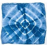 Bamboo Swaddle Blanket - Indigo Tie Dye