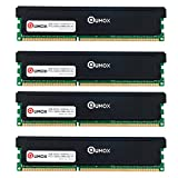 QUMOX 32GB (4x 8GB) DDR3 1600 PC3-12800 PC-12800 (240 PIN) XMP CL9 DIMM Memoria Desktop