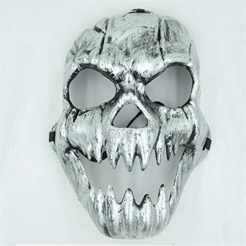Beliebte Kostüm Männliche - Gkjhgou Männliche Mode-Horror-Maske Halloween Kostüm Ball Maske Cos Maske Warrior Spoof Maske Spiel Maske verschleißfest atmungsaktiv Qualität Zusicherung Ihre intime Mode