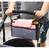 Baby Toddler Walker Diaper Bag Kid Stroller Attachable Organizers Lightweight