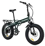MONSTER 20 HB - Das Elektro-Faltrad - The Folding Electric Bike - Vorderfederung - Räder 20