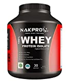 #7: Nakpro Instantised unflavored & Raw 100 % Whey Protein powder Isolate 1kg