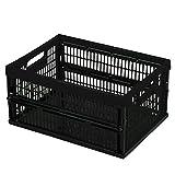 Curver Klappbox: Wenig Stauraum und viel Platz bietet diese Box 47x34 cm schwarz:: mehr erfahren >
