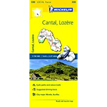 Cantal, Lozere, France Local Map 330 (Michelin Local Map, Band 330)