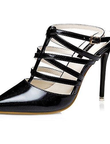 WSS 2016 Chaussures Femme-Décontracté-Noir / Rose / Argent / Or / Fuchsia-Talon Aiguille-Talons-Talons-Polyuréthane pink-us5.5 / eu36 / uk3.5 / cn35