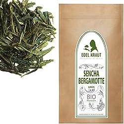 EDEL KRAUT | BIO SENCHA BERGAMOTTE Premium Grüner Tee - Grüntee - Green Tea Organic 250g