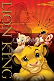 eLITe Disney 's König der Löwen Metallic Signature Cartoon groß Metallic Folie Film Film Poster 61 x 91,5 cm