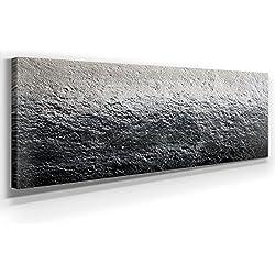 Modernes Abstraktes Bild I - XXL Bild - Kunst - XXL 150 x 50cm, Leinwand auf Holzrahmen aufgespannt, UV-stabil und wasserfest, XXL Deko Bild abstrakt FineArtPrint Wandbild für Büro oder Wohnzimmer