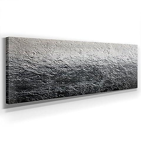 Modernes Abstraktes Bild I - XXL BILD - KUNST - XXL 150 x 50cm, Leinwand auf Holzrahmen aufgespannt, UV-stabil und wasserfest, XXL Deko Bild abstrakt FineArtPrint Wandbild für Büro oder