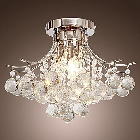 Lampadari,Create For Life® 3 luce lampadario di cristallo moderno, Mini