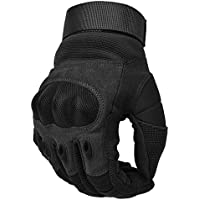 Cotop Motorcycle Gloves, Hard Knuckle Touch Screen Gloves Motorcycle Gloves Motorbike ATV Riding Full Finger Gloves for Men