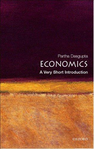 Economics: A Very Short Introduction (Very Short Introductions) por Partha Dasgupta