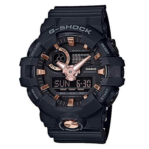 G-Shock By Casio Unisex Analog-Digital GA710B-1A4 Watch Black