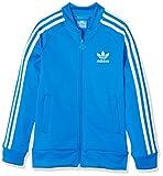 adidas Jungen Superstar Jacke, Bluebird/White, 128