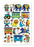 byGraziela Kinderzimmer-Poster: Zirkus 50 x 70 cm Retro